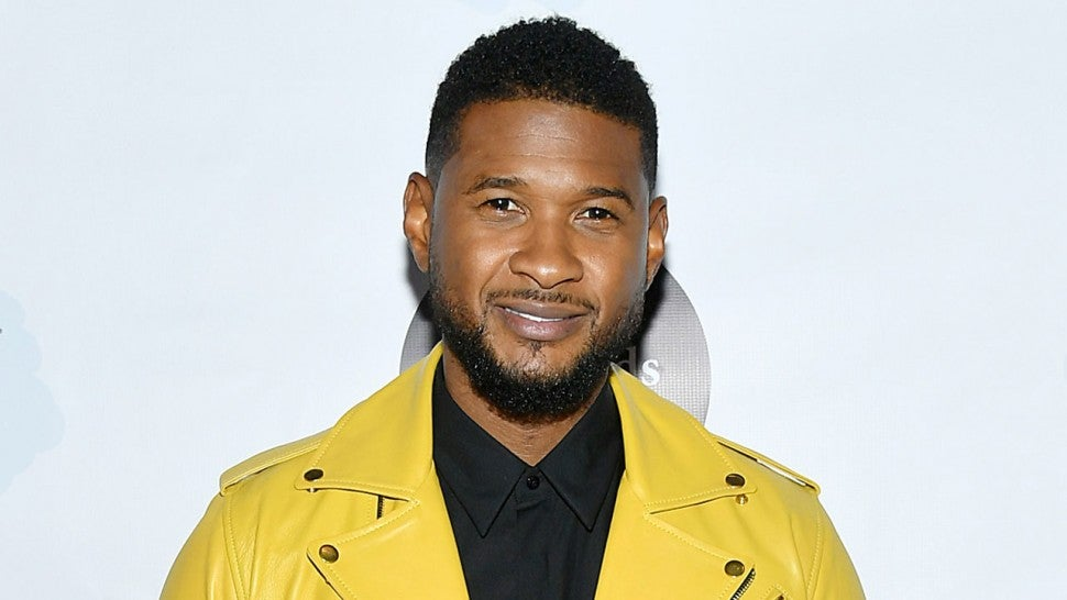 Usher at the Little Kids Rock Benefit 2019
