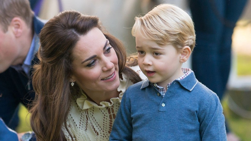 kate middleton and prince george in 2016