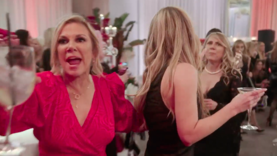 Ramona Singer tells cameras to stop filming on 'The Real Housewives of New York City.'