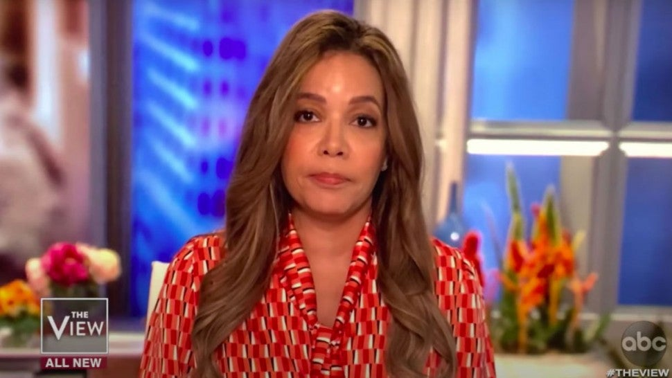 Sunny Hostin on the view