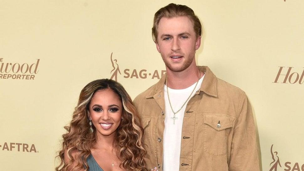 Vanessa Morgan Reveals Name of Son With Michael Kopech ...