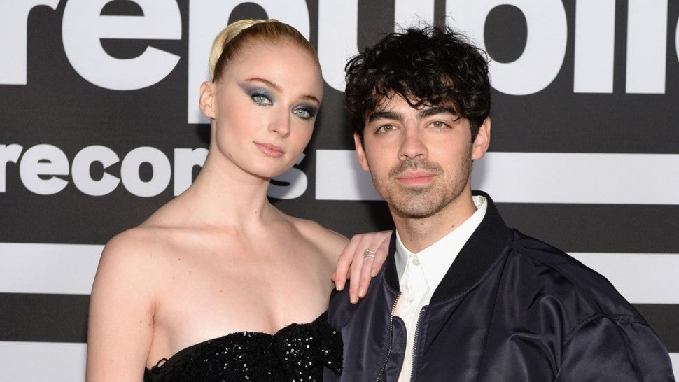 Sophie Turner and Joe Jonas at Republic Records Grammy after party 2019