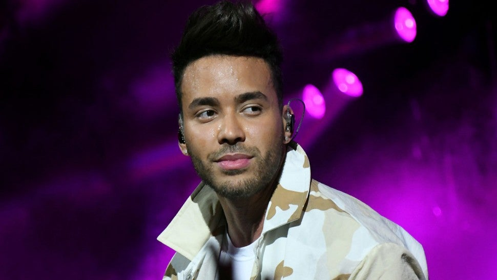 Prince Royce performs at MLS All-Star Concert 2019