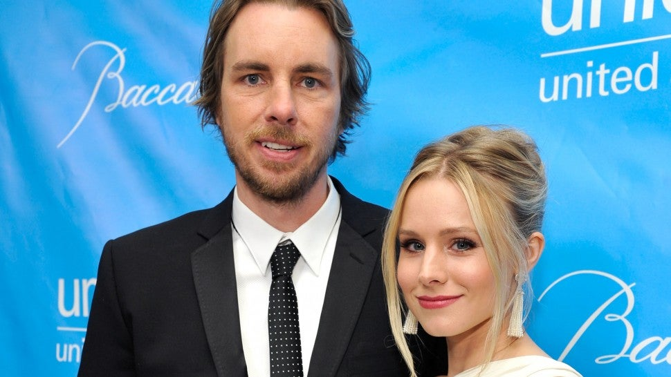 Dax Shepard and Kristen Bell at the 2011 UNICEF Ball