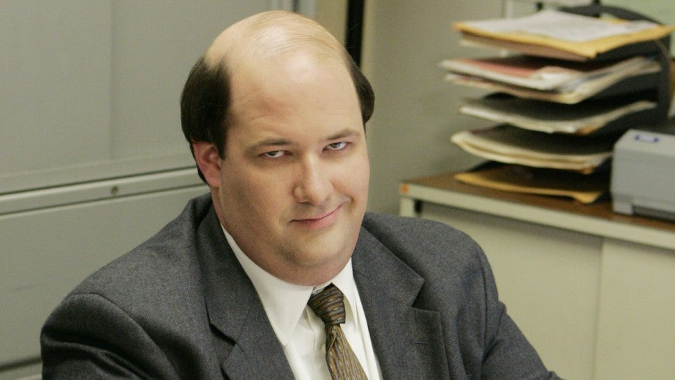Brian Baumgartner as Kevin Malone in The Office