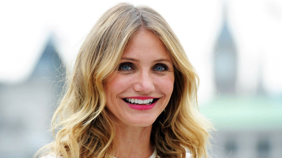 "Cameron Diaz at a photocall for ""Sex Tape"""