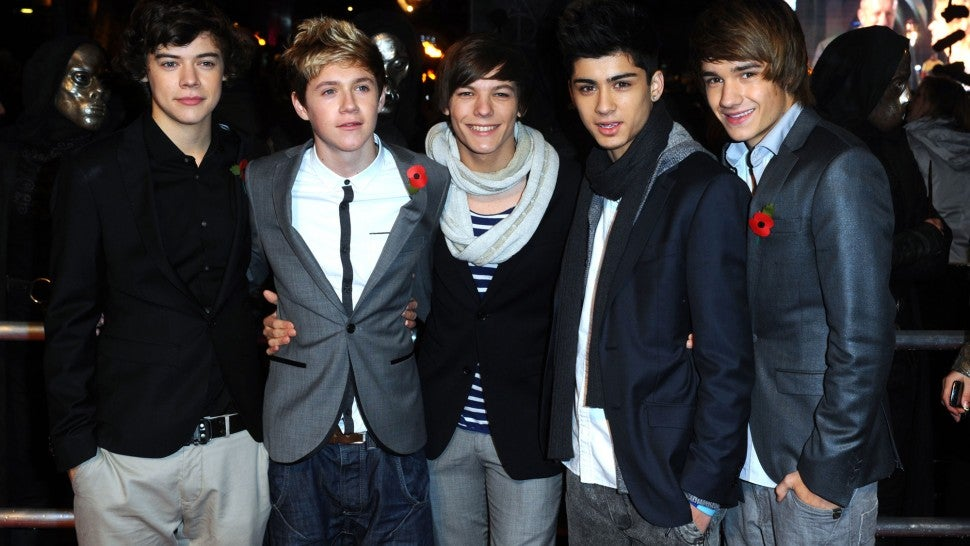 One Direction Show What Makes Them Beautiful at 2012 Kids
