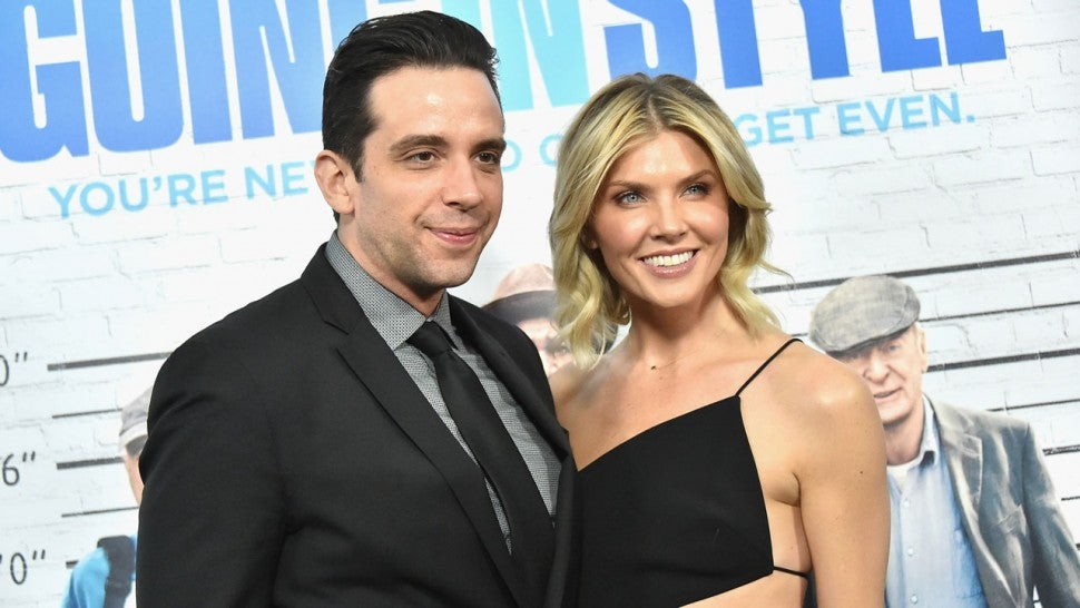 "Nick Cordero and Amanda Kloots at the ""Going In Style"" New York Premiere"