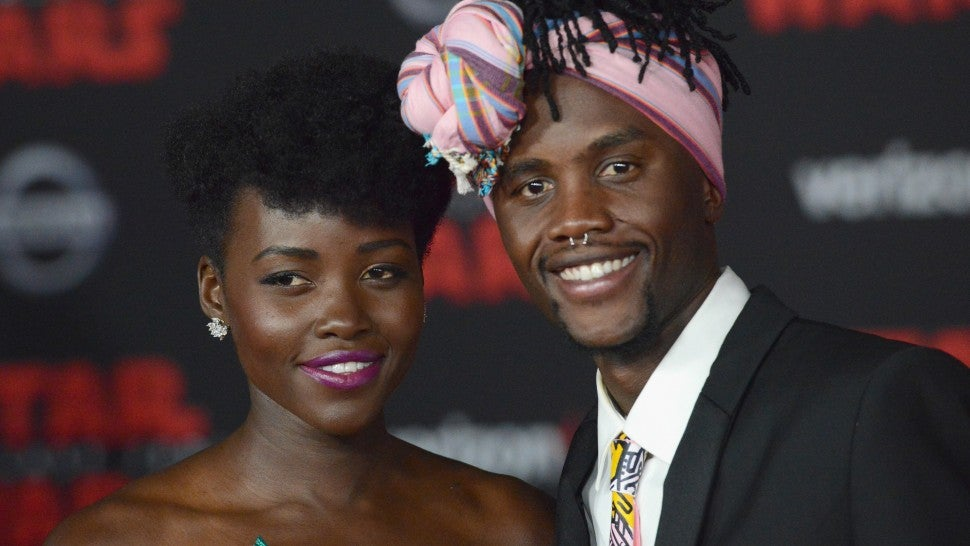 Lupita Nyong'o and brother Peter
