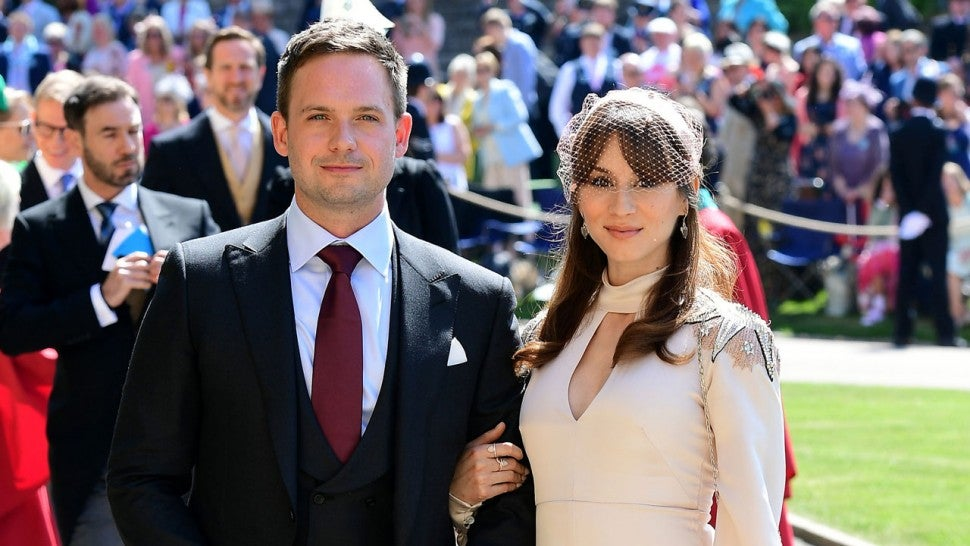 troian bellisario recalls extreme anxiety at meghan markle and prince harry s wedding entertainment tonight meghan markle and prince
