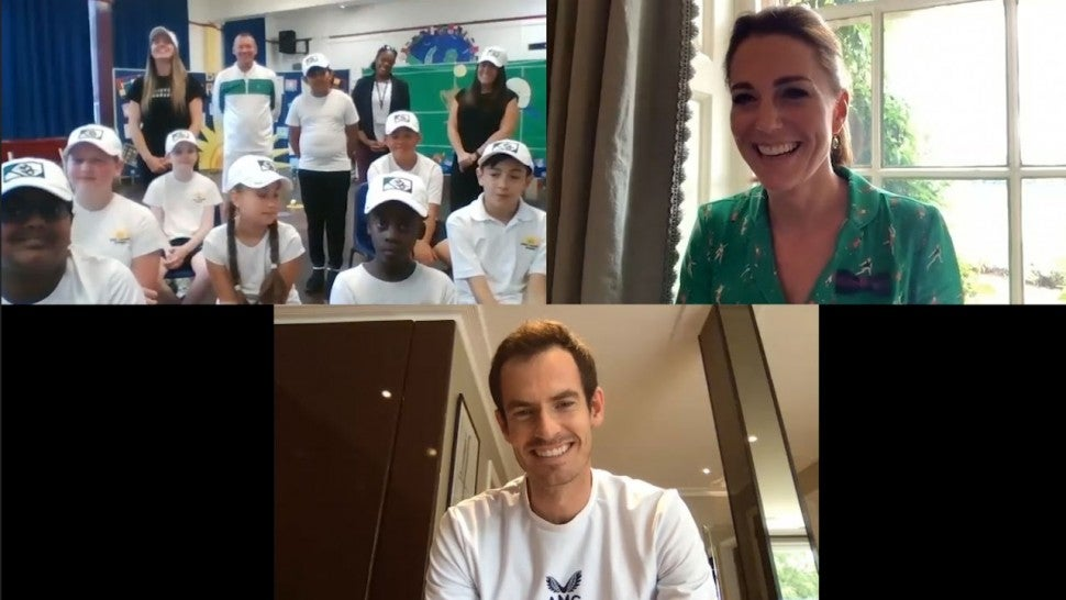 Kate Middleton, Andy Murray, kids