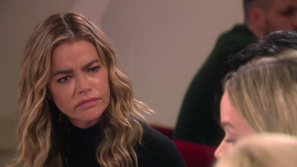 Denise Richards is confused by Teddi Mellencamp's confrontation on 'The Real Housewives of Beverly Hills.'