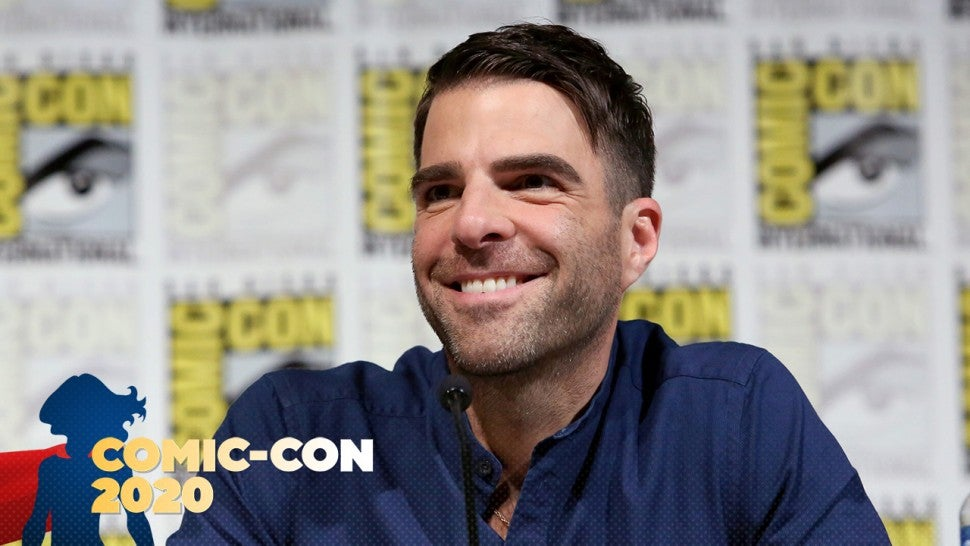 Zachary Quinto at Comic-Con 2019. Getty Images