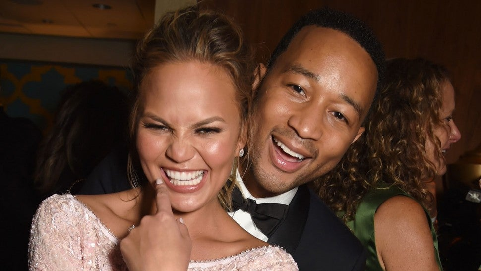 Chrissy Teigen Reveals She and John Legend Had Sex at Democratic National  Convention | Entertainment Tonight