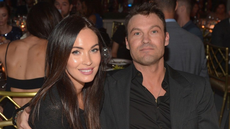 Megan Fox and Brian Austin Green in 2014