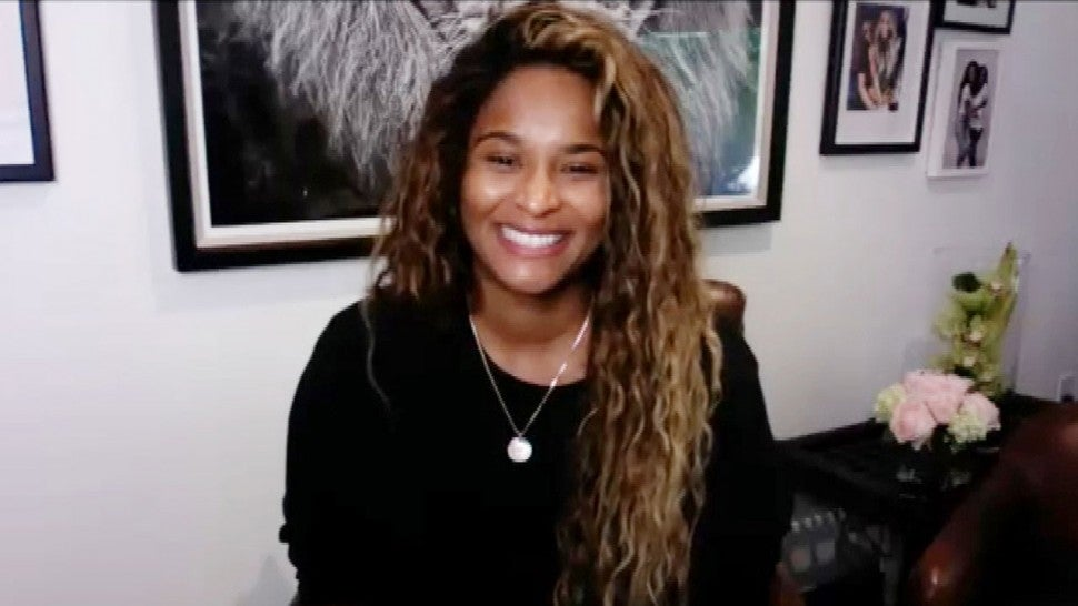 Ciara Says She Was Still Working on Music While in Labor (Exclusive)