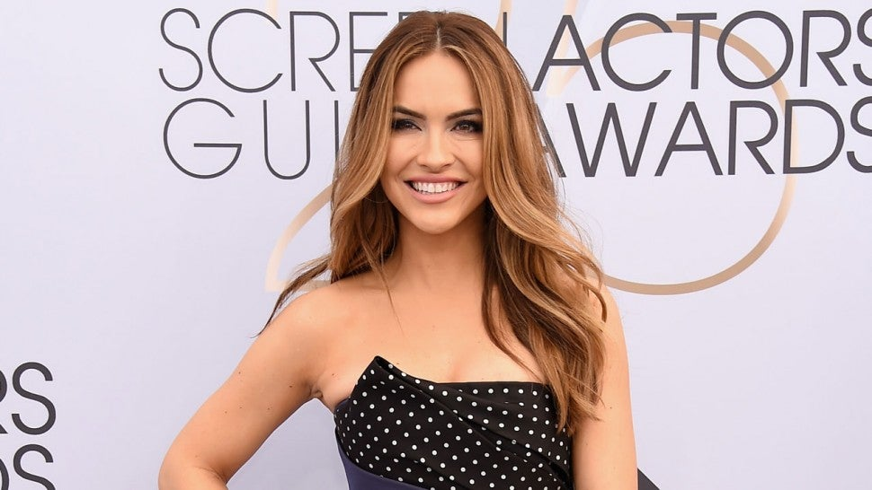 Chrishell Stause at the 25th Annual Screen Actors Guild Awards