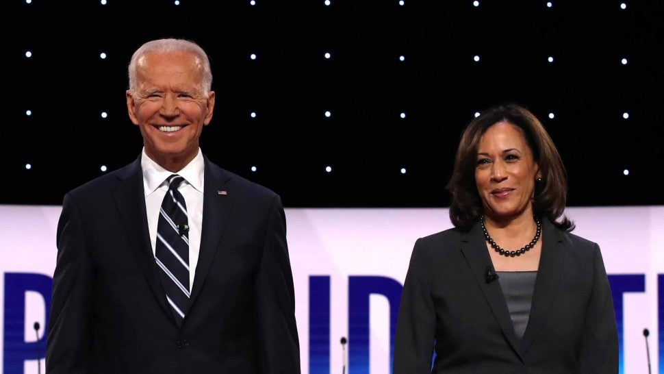 Joe Biden Announces Kamala Harris As Vice Presidential Running Mate Entertainment Tonight