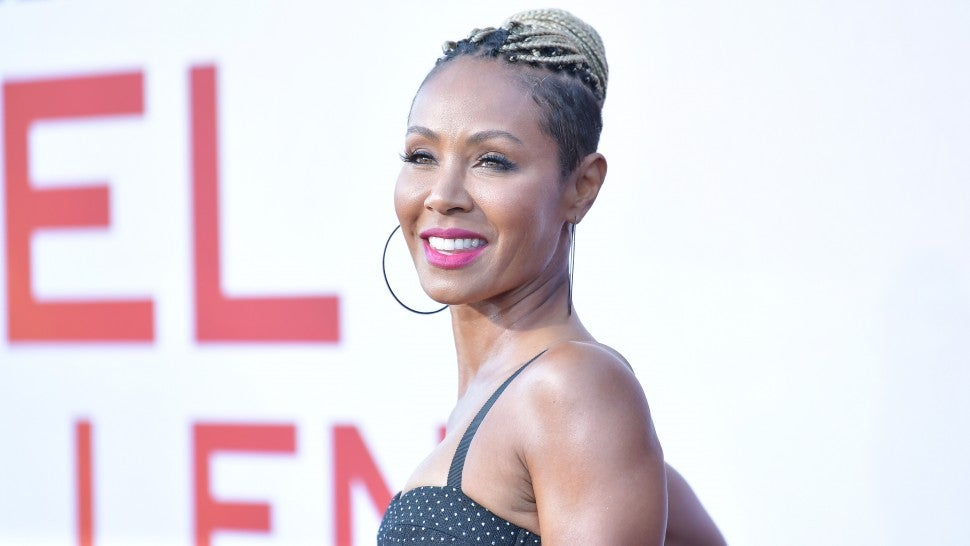 Jada Pinkett Smith at Angel Has Fallen premiere
