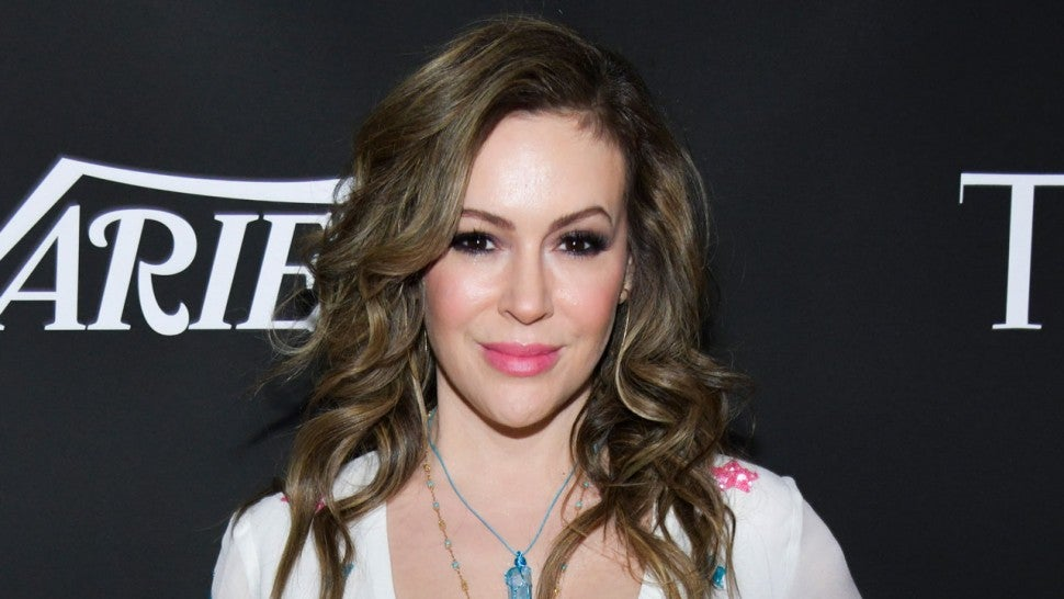 Alyssa Milano at 10th Anniversary Gala Benefiting CORE 2020