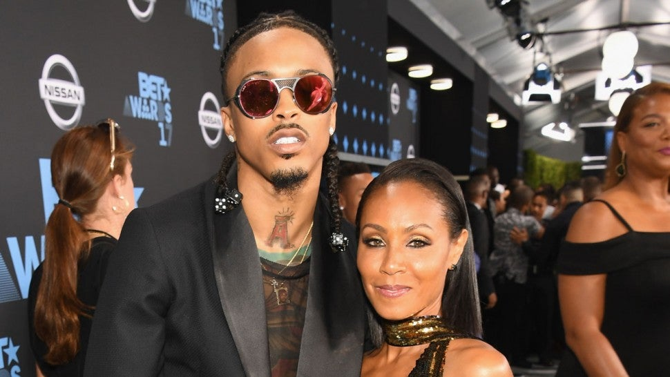 August Alsina and Jada Pinkett Smith at the 2017 BET Awards