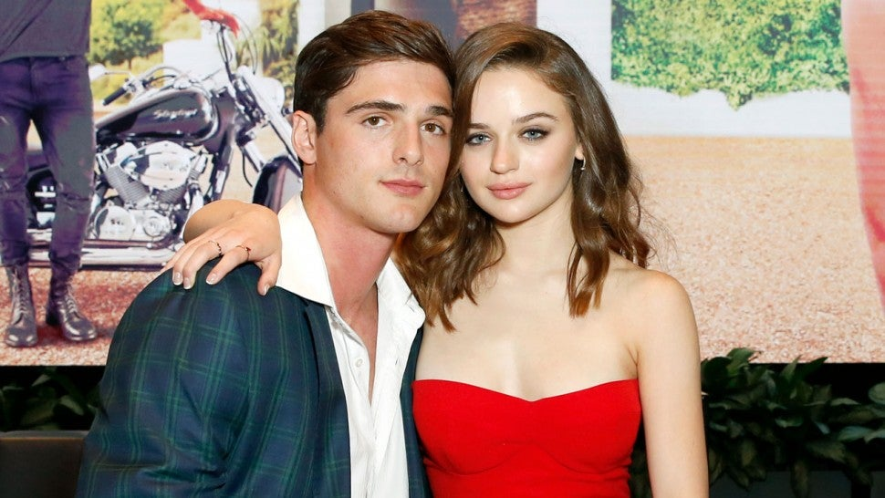 Jacob Elordi and Joey King at a screening of 'The Kissing Booth' in 2018