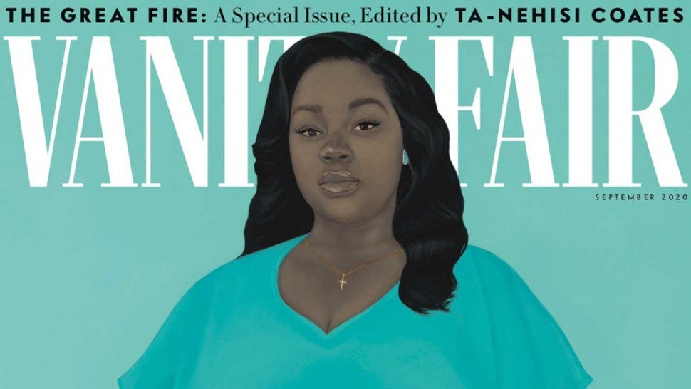 Breonna Taylor Covers Vanity Fair As Her Mother Recounts The Night She Was Killed Entertainment Tonight