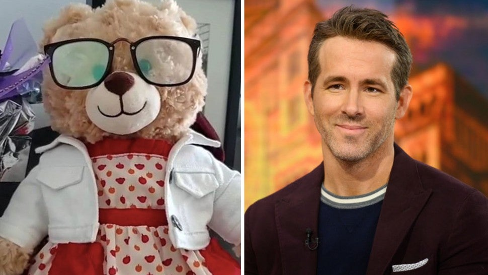 Woman Who Lost Teddy Bear With Late Mother's Voice Explains How Ryan Reynolds Came to the Rescue!