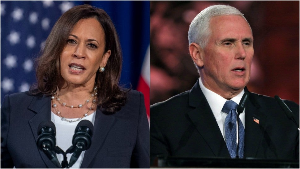 How To Watch The Vice Presidential Debate Between Kamala Harris And Mike Pence Entertainment Tonight