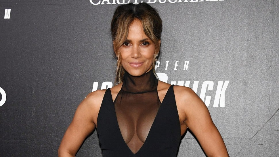 "Halle Berry at the ""John Wick: Chapter 3"" world premiere"