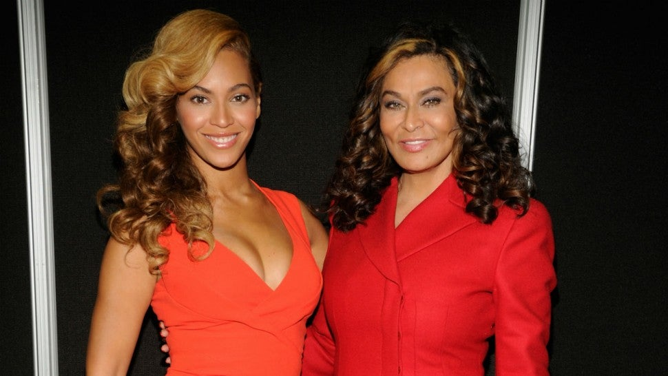 Beyonce and Tina Knowles-Lawson