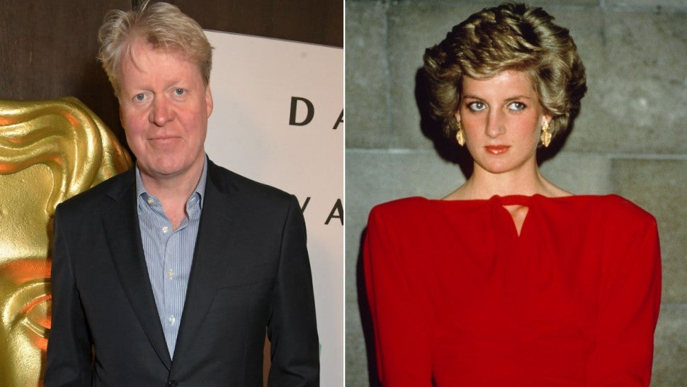 Charles Spencer and Princess Diana