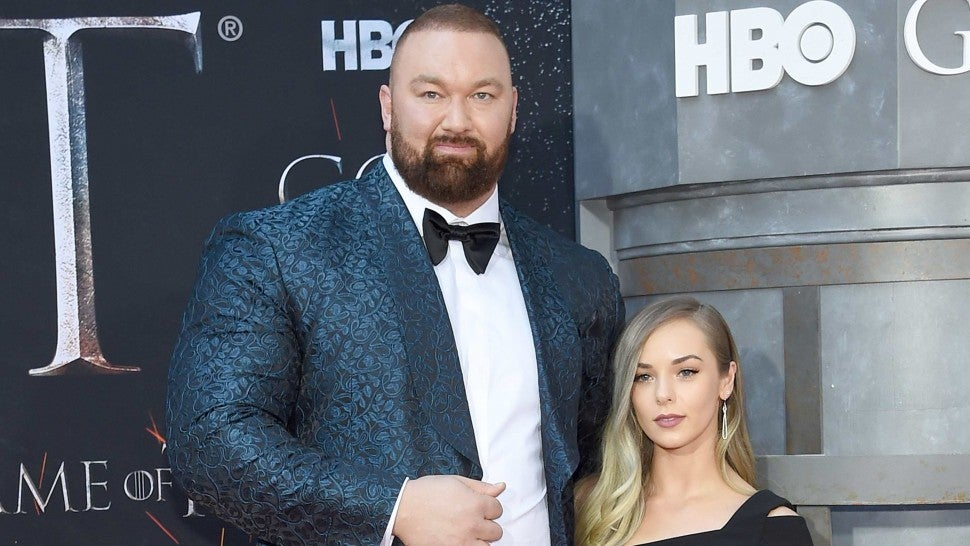"Hafþor Julius Bjornsson attends the ""Game Of Thrones"" Season 8 Premiere on April 03, 2019 in New York City."