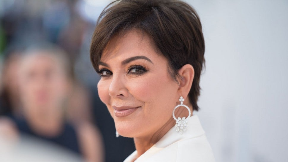 Kris Jenner at the amfAR Cannes Gala 2019
