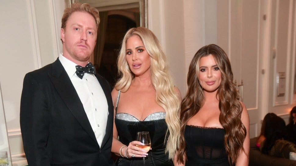 Kroy Biermann, Kim Zolciak, Brielle Biermann