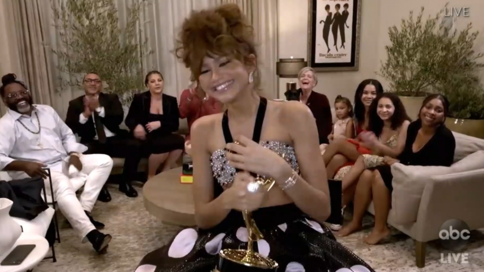 Zendaya Becomes Youngest Person Ever to Win Emmy for Lead Actress in a Drama