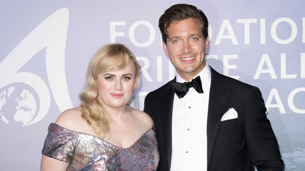 Rebel Wilson and Jacob Busch