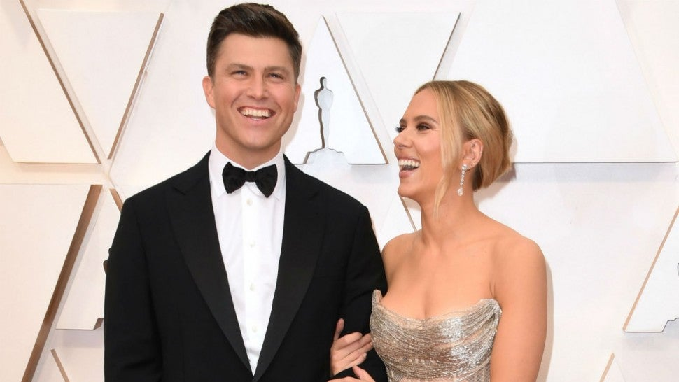 Colin Jost Says Michael Che's Wedding Gift Has Him and Scarlett Johansson 'Concerned for Our Well-Being'.jpg