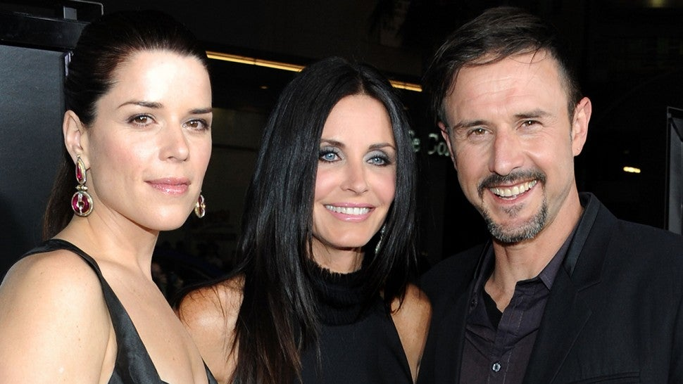 Neve, Courteney, David at Scream 4