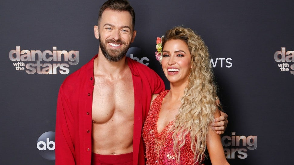 Kaitlyn and Artem