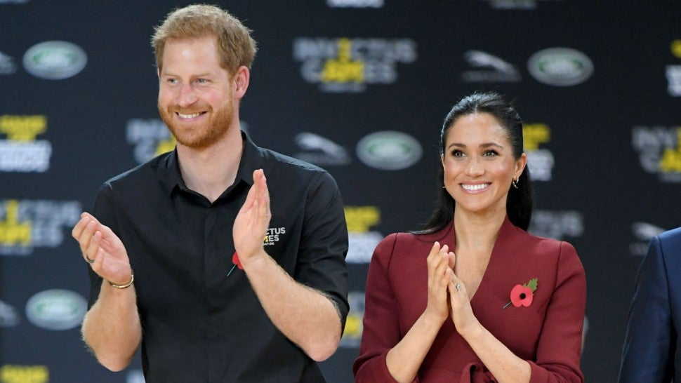 Prince Harry Says Walking In Meghan Markle s Shoes Taught Him About Unconscious Bias Entertainment Tonight