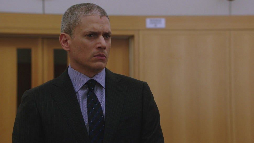 Wentworth Miller on SVU