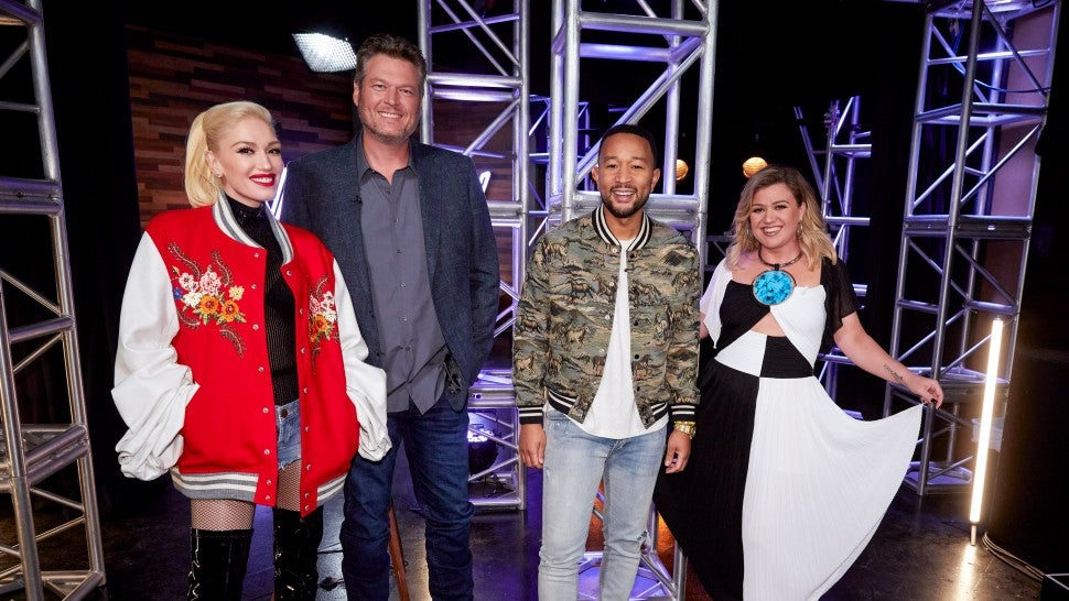 the voice season 19 coaches blake shelton gwen stefani kelly clarkson john legend
