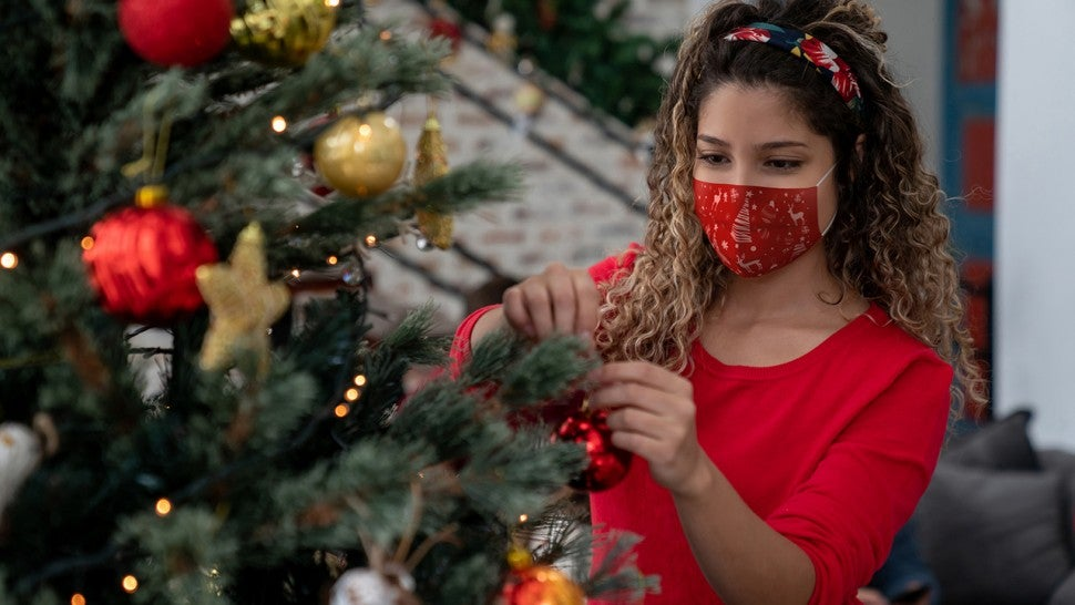 holiday masks for the season