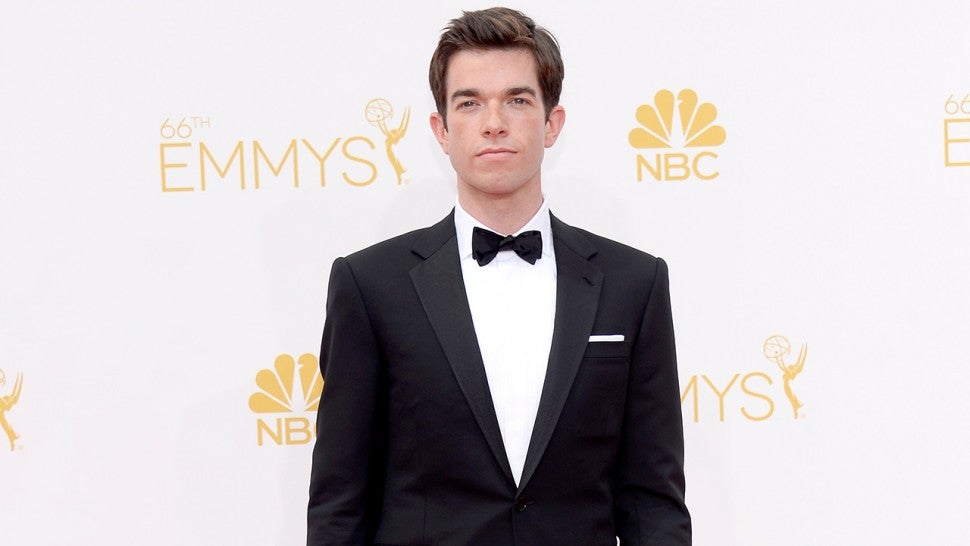 John Mulaney arrives to the 66th Annual Primetime Emmy Awards held at the Nokia Theater on August 25, 2014.