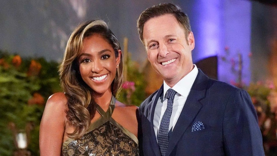 Tayshia Adams Chris Harrison Bachelorette