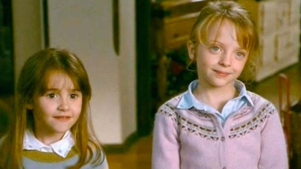 Olivia and Sophie from 'The Holiday'