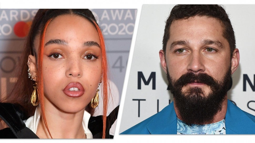 FKA Twigs and Shia LaBeouf