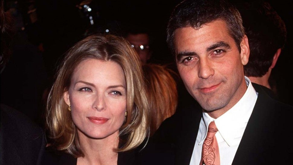 Michelle Pfeiffer and George Clooney
