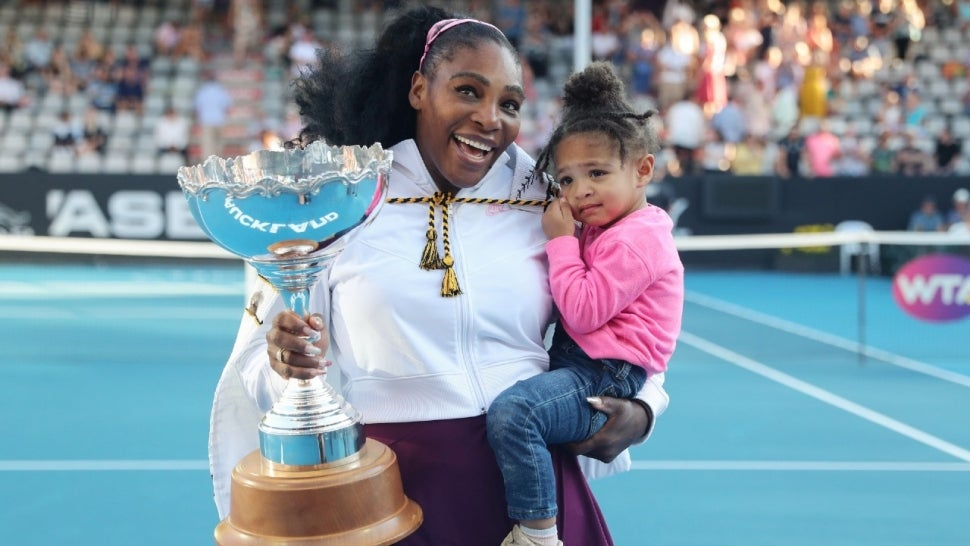 Shop Serena Williams' Adorable Mother-Daughter Matching One-Piece Swimsuits.jpg